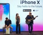 Thi công sự kiện ra mắt Iphone X tại Việt Nam