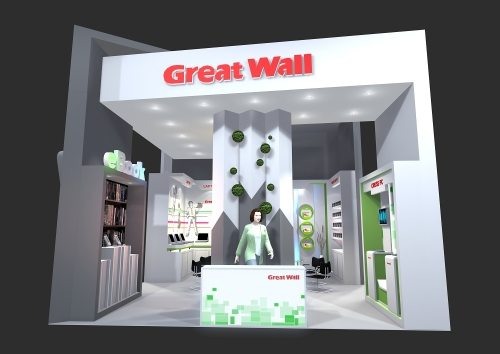 Design for stand Great Wall