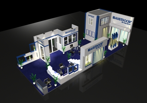 Design for stand Austdoor