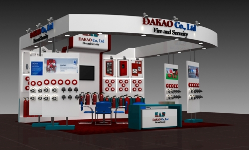 Design for stand Secutech