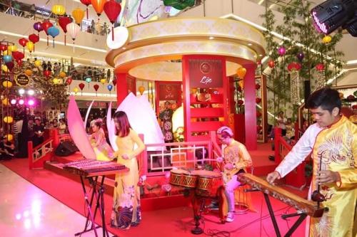 Thi công sự kiện Tết Trung Thu - Sai Gon Center