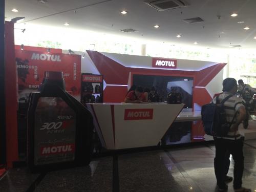 Thi công gian hàng triển lãm Moto Show