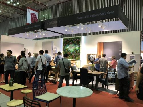 Thi công gian hàng triển lãm Vifa Expo 2018