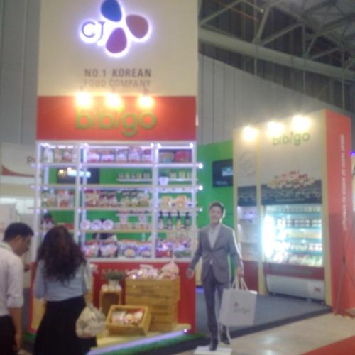 Thi công gian hàng triển lãm Food Expo