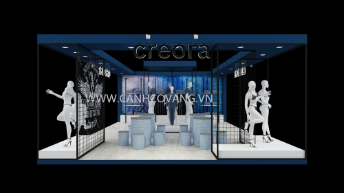 Design for stand Creora