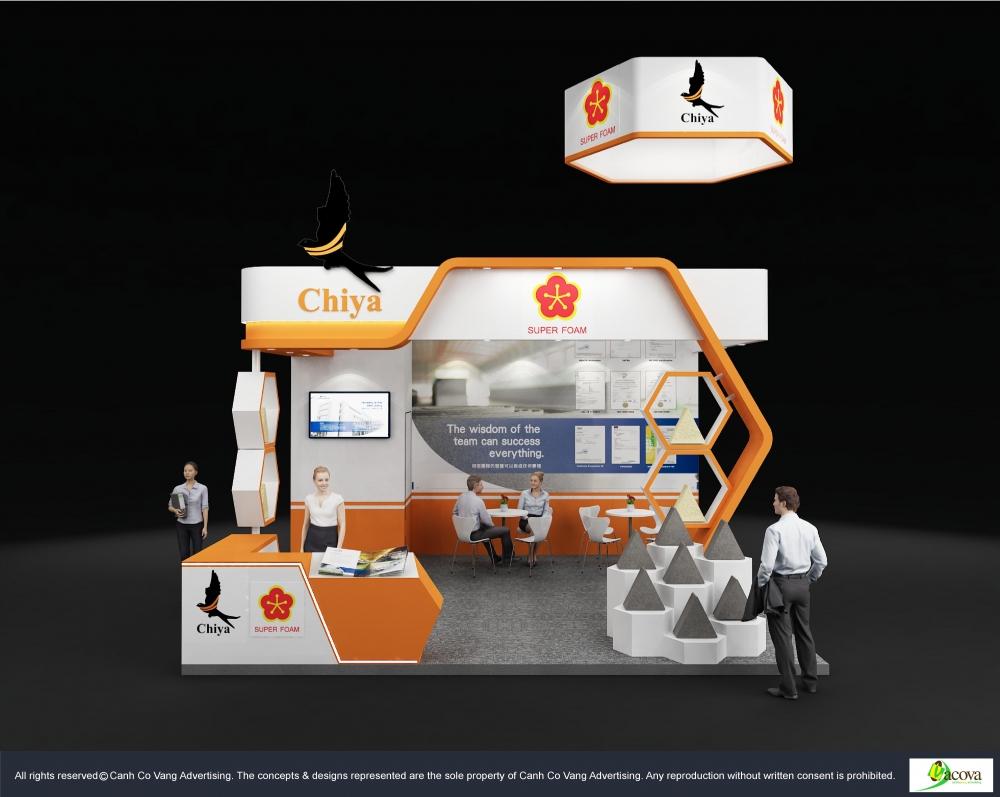 Design Booth Chiya Foam