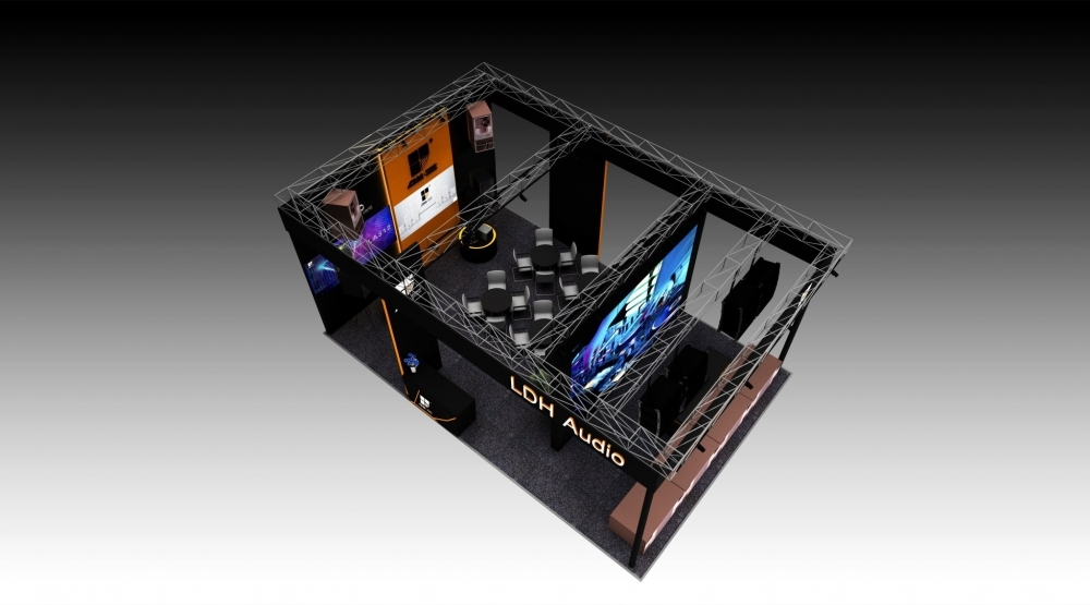 Design Booth for LDH