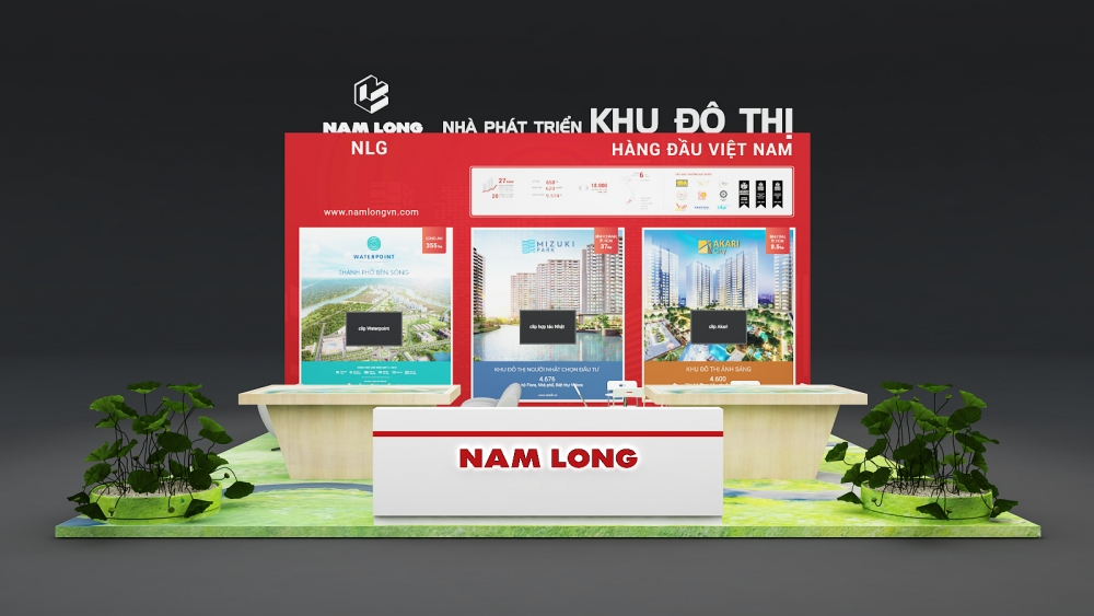 Design Booth for Vietbuild Exhibition booth
