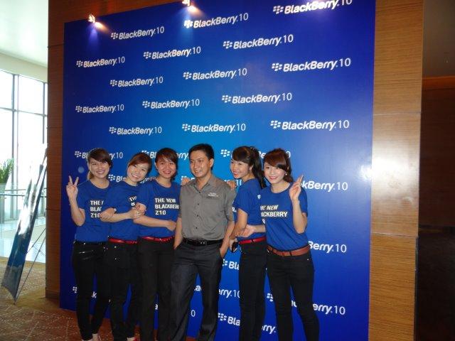 Họp báo ra mắt BlackBerry
