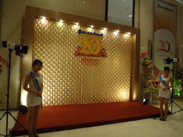 Lễ đón nhận huân chương Sacombank