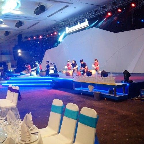 Thi công sự kiện 25 năm thành lập Sacombank