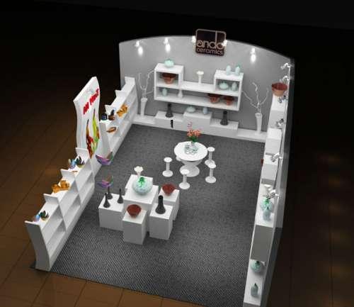 thiết kế gian hàng hội chợ triễn lãm